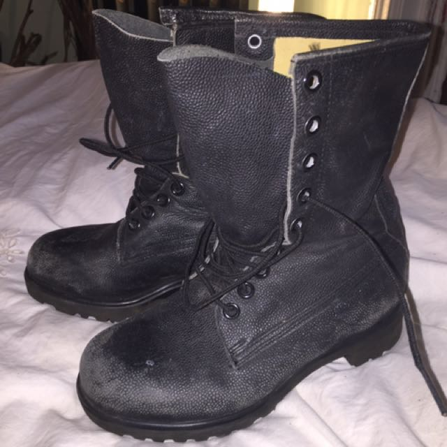 Steel Toe Boots Size 8.5-9
