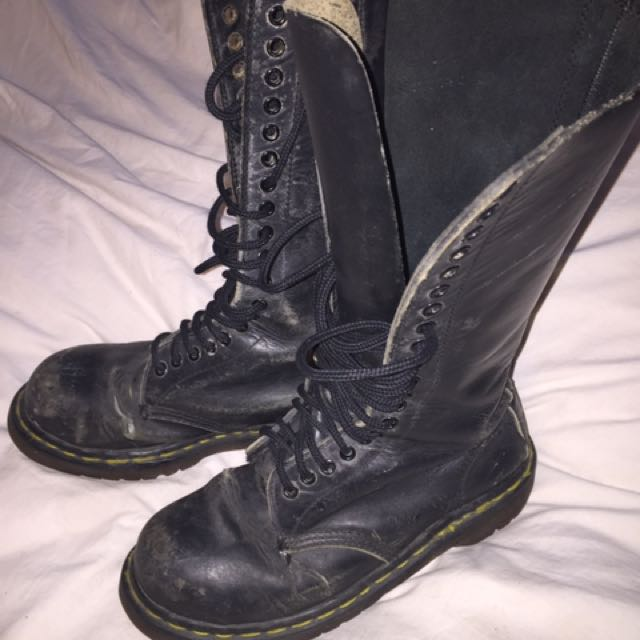 Steel Toe Boots Size 8
