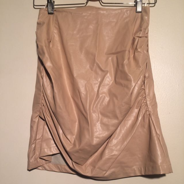 Sz 8 Sundays The Label Nude Skirt