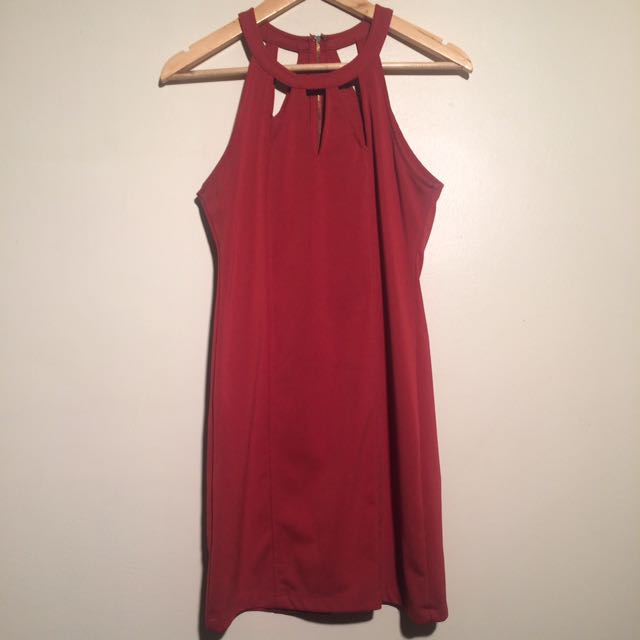Sz S Mink Pink Dress