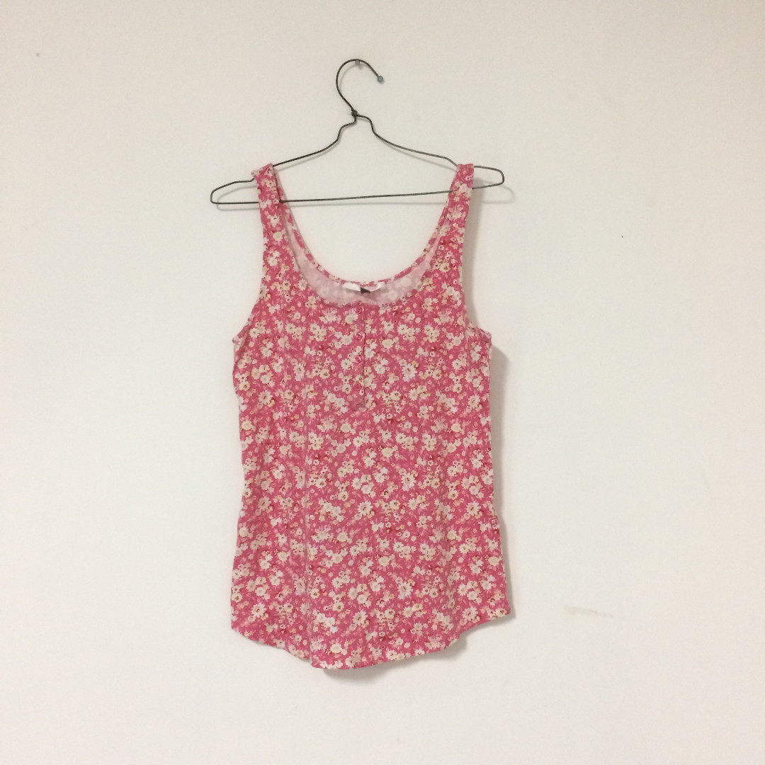 Tank Top Flower Bigsize