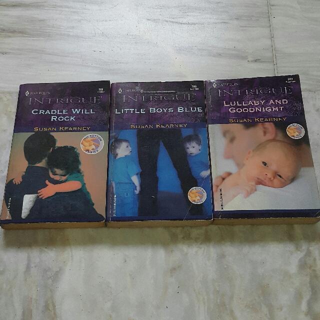 The Sutton Babies Set by Susan Kearney