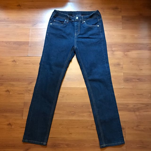 Uniqlo Blue Denim Pants
