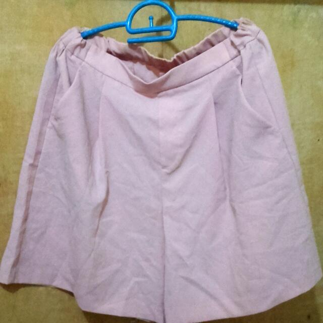 Uniqlo Pastel Pink Palda-short