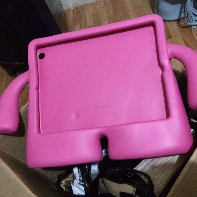 Used Pink iPad Holder