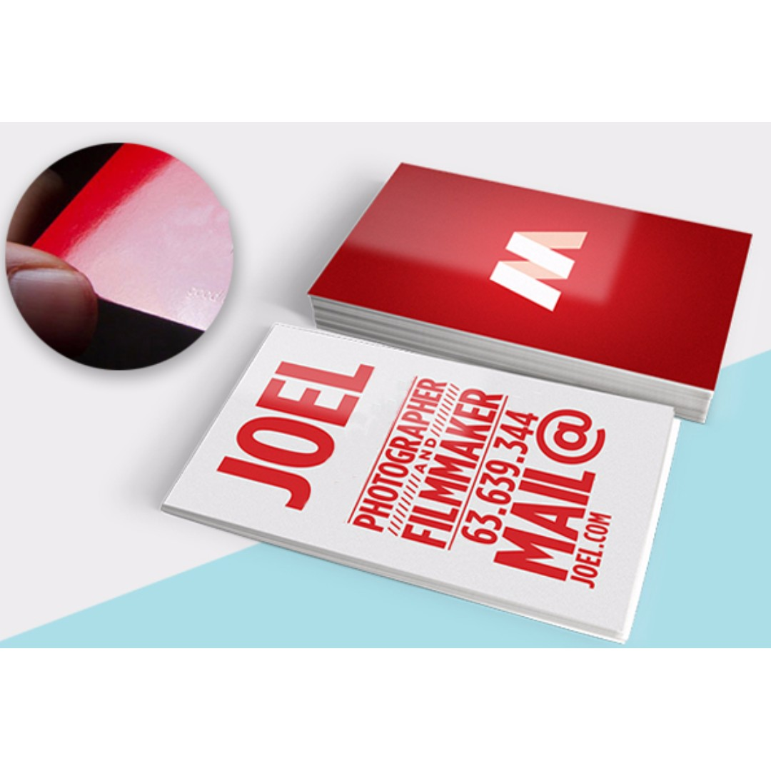Nice Uv Varnish Business Cards Contemporary - Business Card Ideas ...