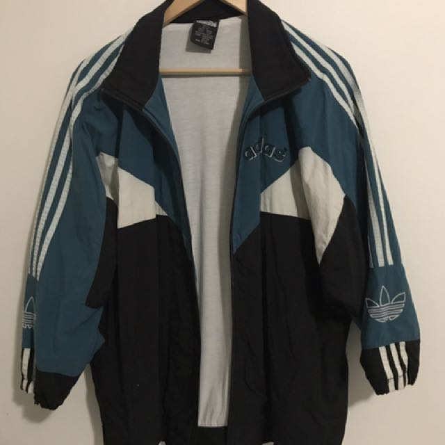 Vintage Adidas Oversized Zip Up Jacket