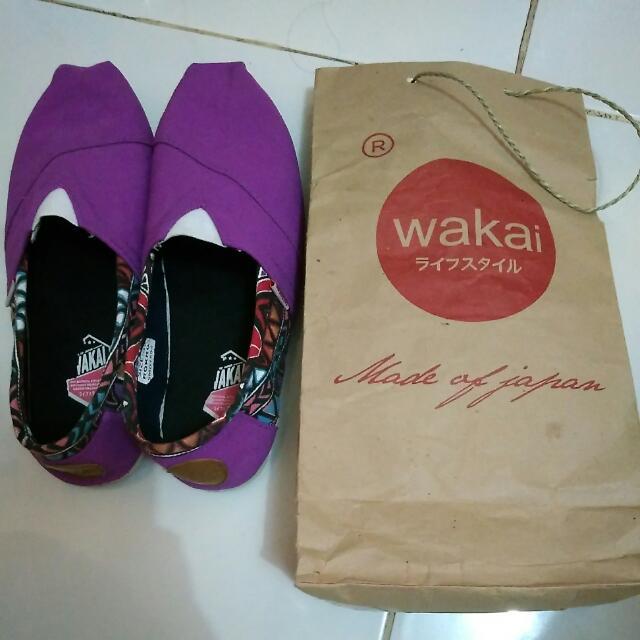 Wakai Shoes Size 38