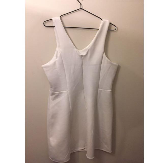 White Mango Collection Dress XL