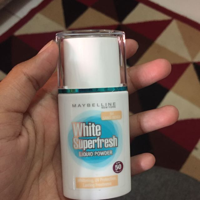 White Superfresh Liquid Powder