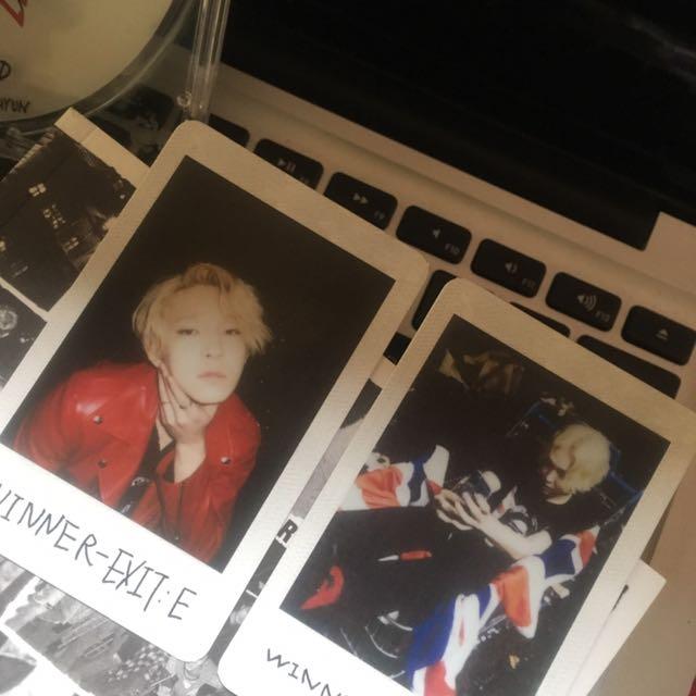 Winner EXIT:E Album With Taehyun Polaroid