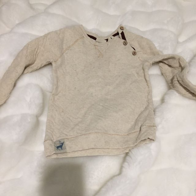 Zara Long sleeve top Size 24-36 months