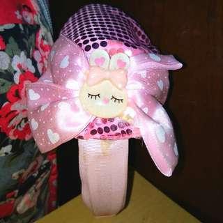 🍥Bando Pink Topi Bling-blink🍥 Anak