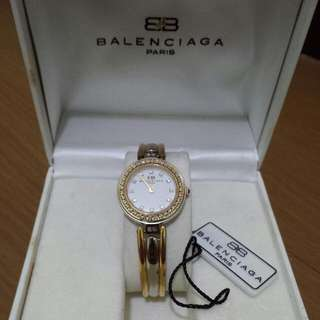 Balenciaga Womens Watch (Two Toned w/ Swarovski )