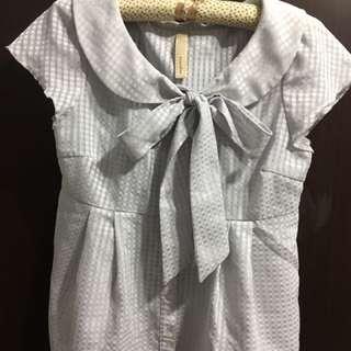 nuee灰色襯衫