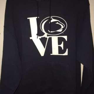 "Champion ""Penn State Love"" Hoodie Size L"