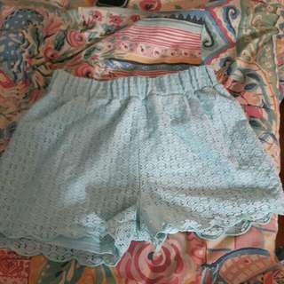 Bluenotes High Waisted Shorts