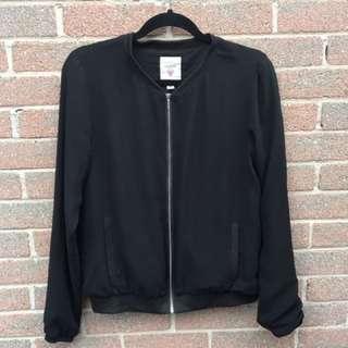 Guess Black Bomber Jacket
