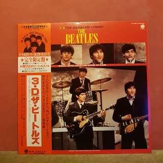 Rare Beatles 3D Collectors Edition Picture Disc Record LP
