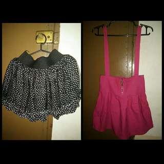 Skirt (black&pink)