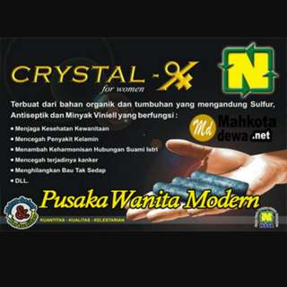 CRYSTAL X ORIGINAL 100%