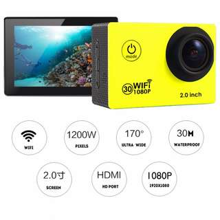 HD/ 4K and Wifi/ Non-Wifi Waterproof HD DV Action Sports Camera. Car Dash Cam. Diving Cam.