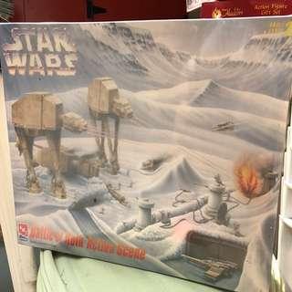 Vintage AMT Star Wars Battle of Hoth Action Scene