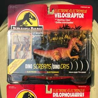 Vintage Kenner - Jurassic Park Electronic Velociraptor