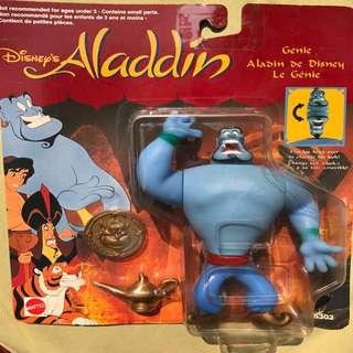 Mattel Disney Aladdin Figure - Genie