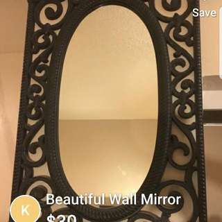 Oval RESIN MIRROR