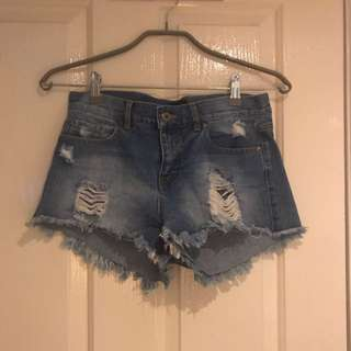 Bardot Low Rise Shorts