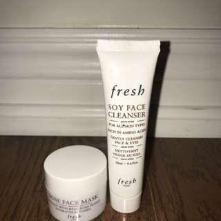 Fresh Face Mask & Face Cleanser