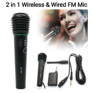 Wired & Wireless Handheld Professional Microphone / Tour Guide & Teaching Loudspeaker with Mic  PM : 92325050