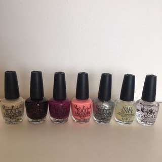 OPI Nail polishes From Coca Cola Collection