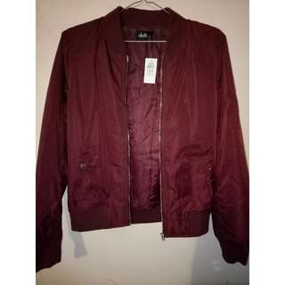 Dotti Bomber Jacket New With Tags Size 8