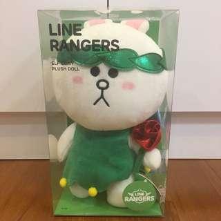 Line Rangers Elf Cont Plush Doll