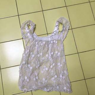 Summers Top Lace