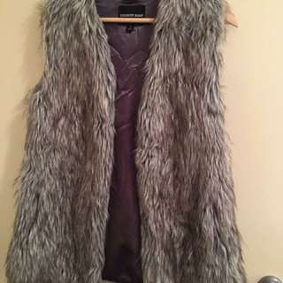 Country Road Faux Fur Gilet