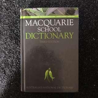 Macquarie School Dictionary