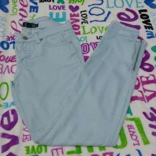 F21 Light Blue Pants