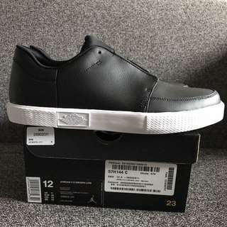 New Air Jordan V.5 Grown Low US 12 Leather Black