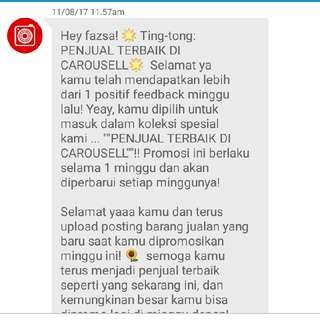 Yuhuu..yg Ke 5..😍..thanks Carousell