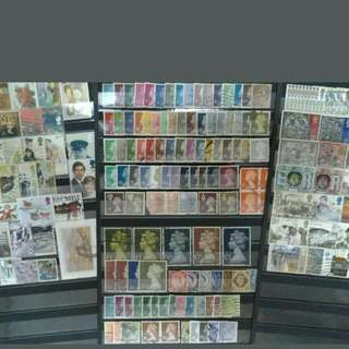 UK Great Britain Mix & Nice Collection Up To £5 - 225v++ Used Stamps All Different & With Few Duplicated