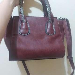 Maroon Crossbody/Sling Bag
