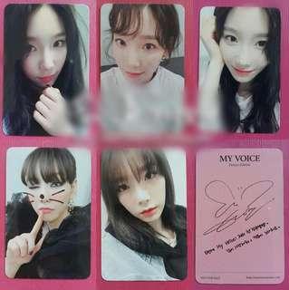 Girls' Generation Taeyeon Duplicate Card / Set