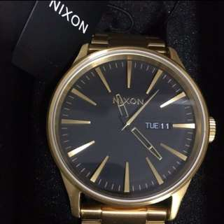 Nixon Sentry SS Gold x Black Watch Mens/Womens