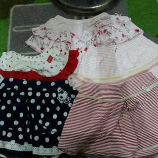 Combo Skirt Anakku/Moms Heart/Disney