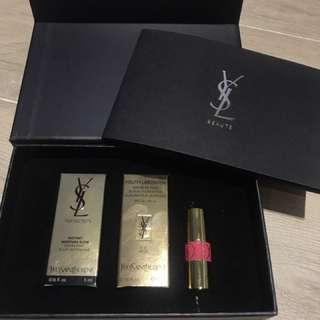 YSL Beaute Date And Love 全新 有單 會員化妝品 3支產品一盒裝