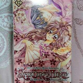 SakuraHime Vol. 12 (The legend of Princess Sakura)