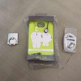 Mobile Accessories Headphones Earphone Earpiece Ring